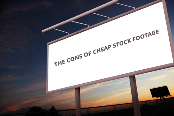the-cons-of-cheap-stock-footage